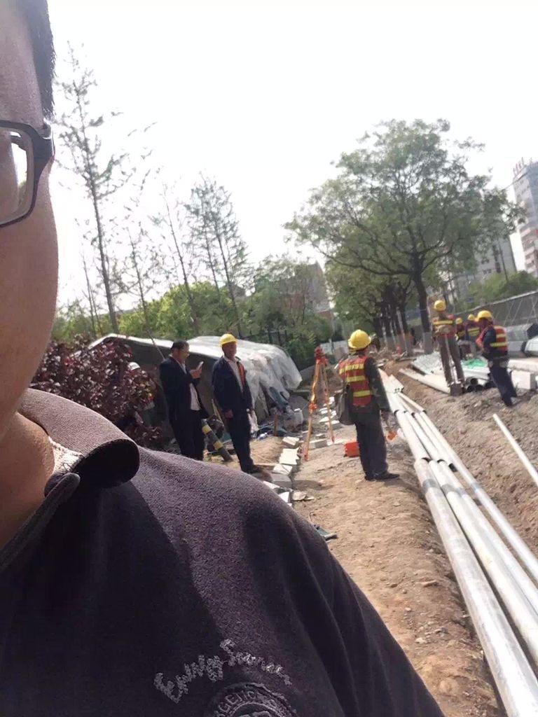 北京石景山施工现场